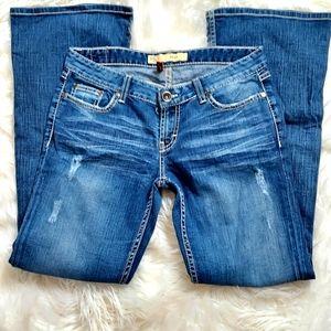 BKE Women's Boot-cut jeans